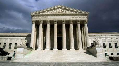 An undated photo of the Supreme Court building.