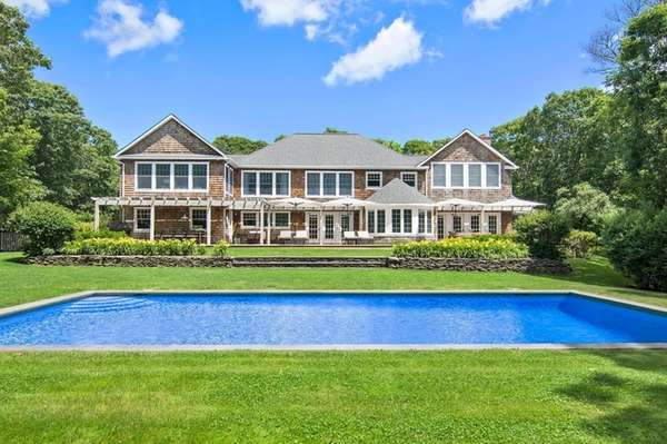 A four-bedroom home in Amagansett recently closed for