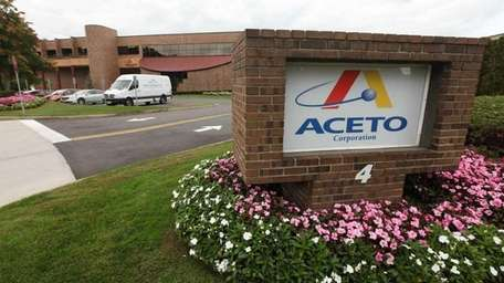 The Aceto Corp. headquarters in Port Washington.