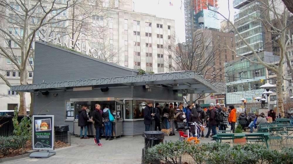 The first Shake Shack is unique in that