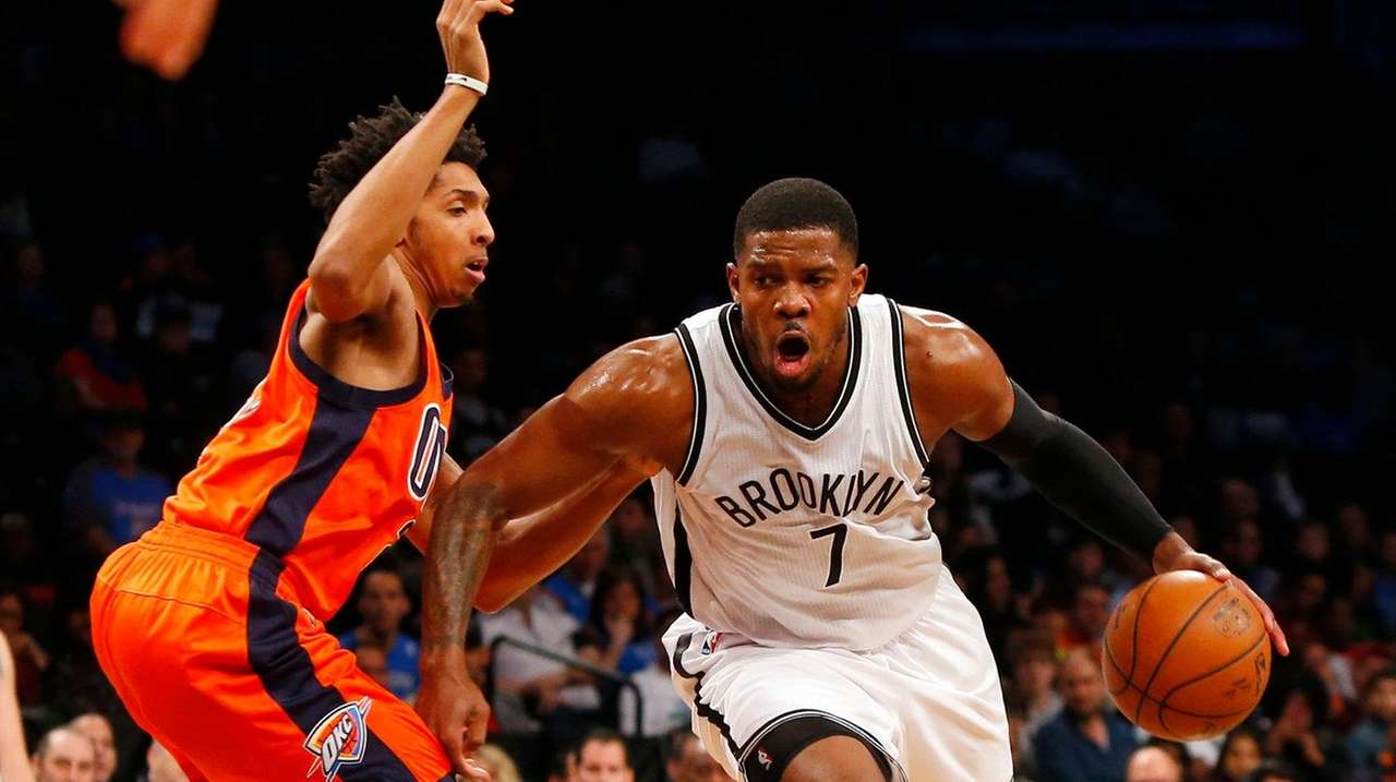 Joe Johnson #7 of the Brooklyn Nets