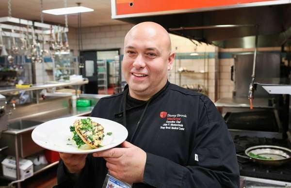 John Mastacciuola, executive chef at Stony Brook Medicine,