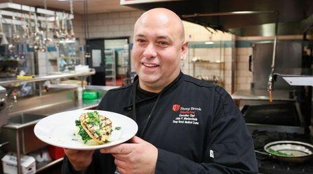 John Mastacciuola, executive chef at Stony Brook Medicine,