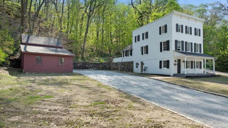 This Roslyn property includes a renovated home and
