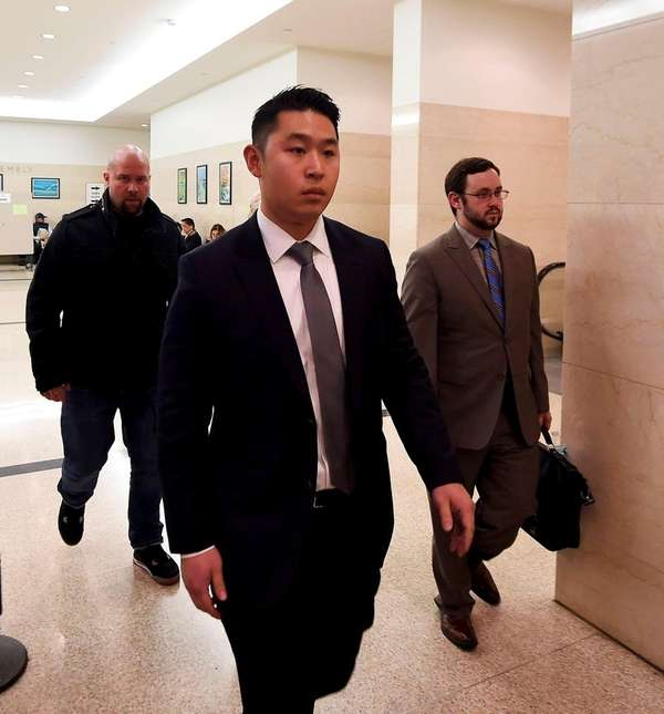 New York Police Department rookie officer Peter Liang,