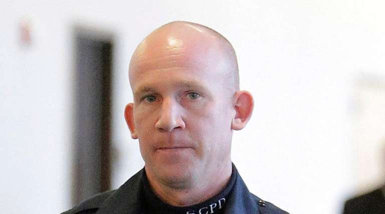 Suffolk County Police Officer Mark Collins, allegedly shot