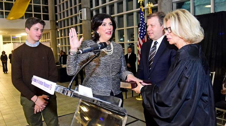 Newly Elected Nassau County District Attorney Madeline Singas