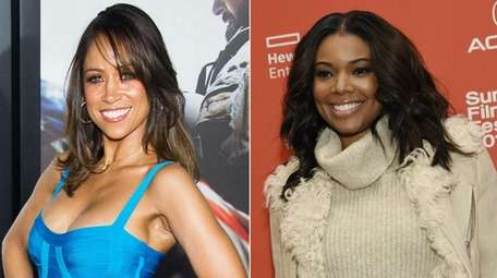 Stacey Dash, left, who starred in the movie