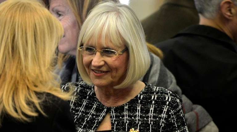 Judi Bosworth seen during the Town of