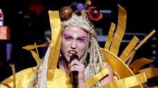 Miley Cyrus and her Dead Petz perform at