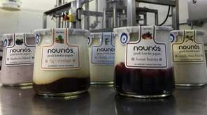 Greek yogurt from Nounos Creamery in West Babylon