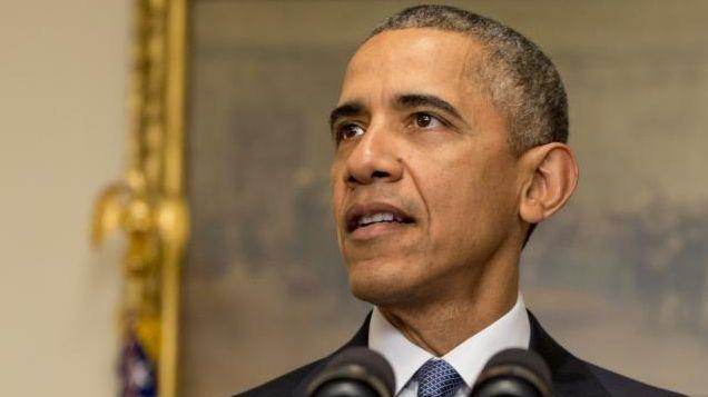 President Barack Obama speaks in the Cabinet Room