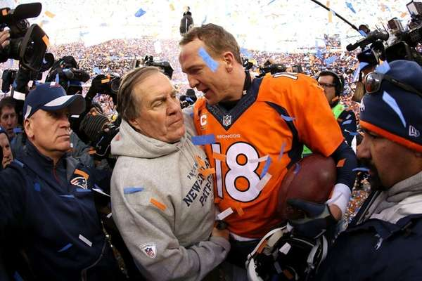 Peyton Manning of the Denver Broncos and