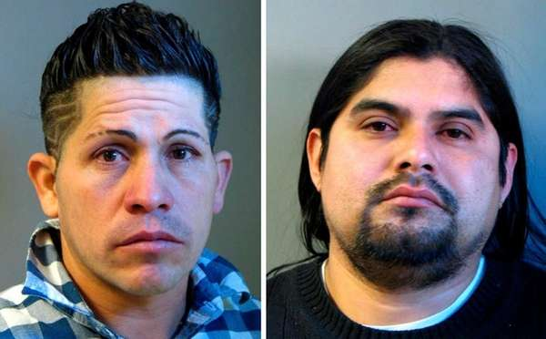 Ovidio Hernandez, 33, left, and Miguel A. Amador,