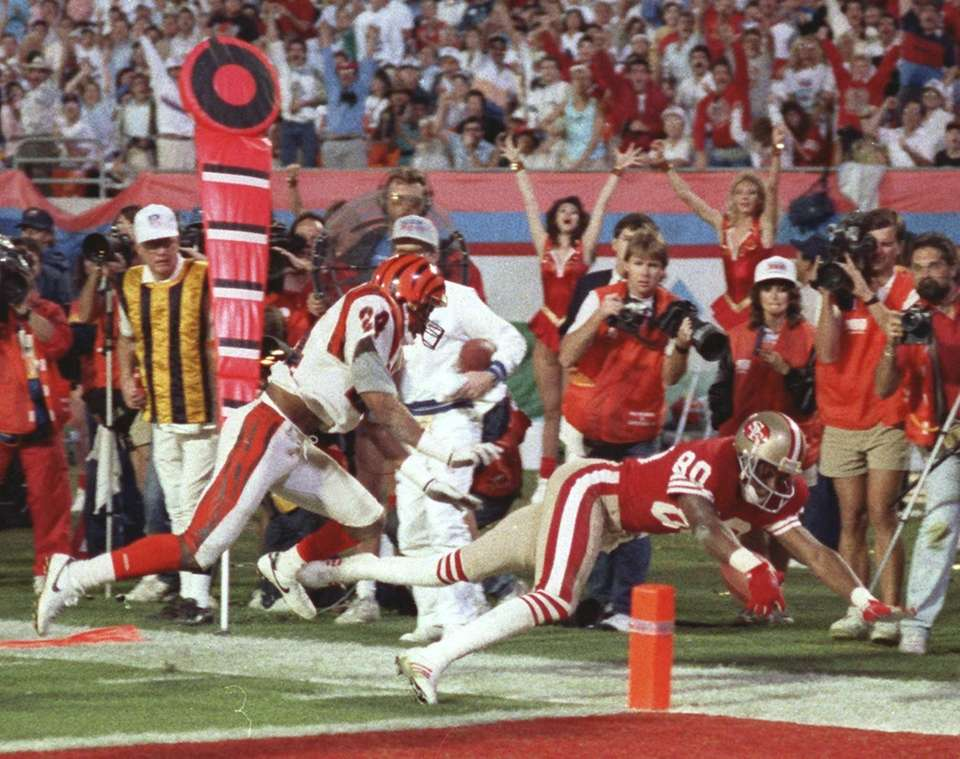 Jerry Rice - 49ers vs. Bengals, XXIII