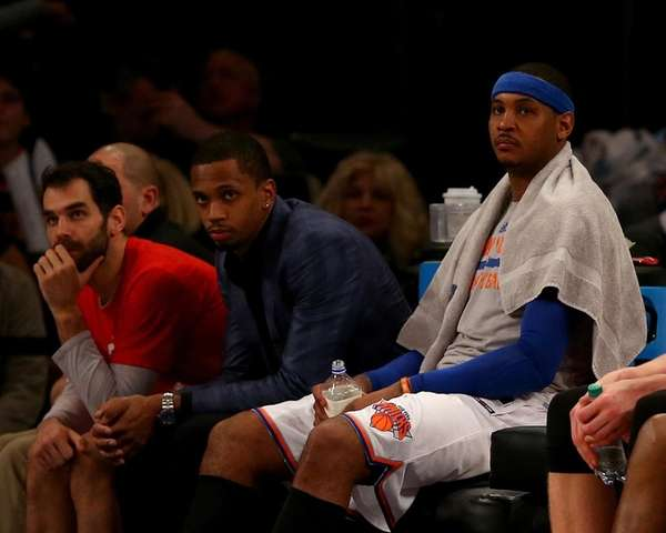 Carmelo Anthony is not worried about
