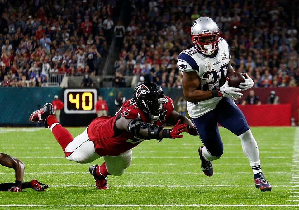 James White - Patriots vs. Falcons, LI