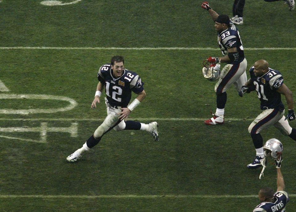 Tom Brady, New England Patriots (XXXVI, XXXVIII, XXXIX,