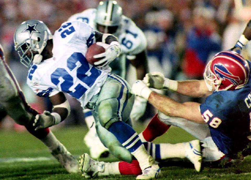 Emmitt Smith, Dallas Cowboys (XXVII, XXVIII, XXX)