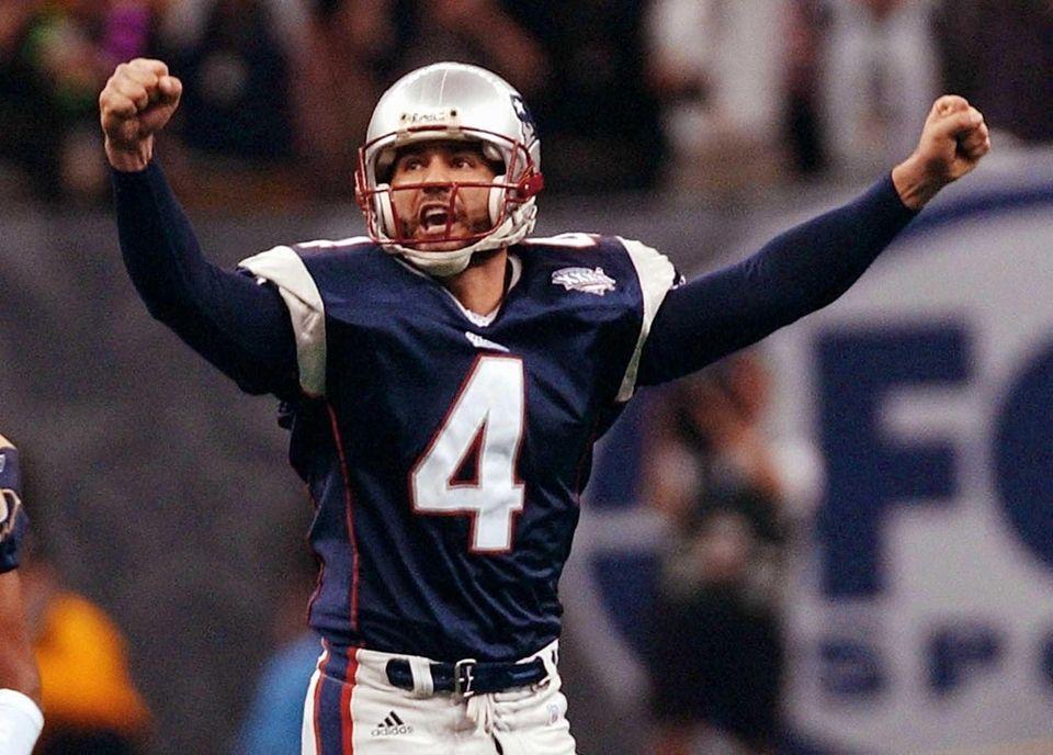 Adam Vinatieri, New England Patriots/Indianapolis Colts (XXXI, XXXVI,