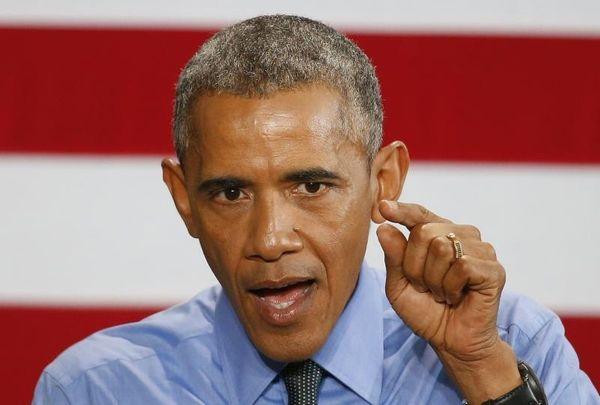 President Barack Obama speaks at the United Auto