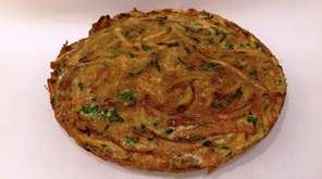 Use leftover French fries to make a frittata.