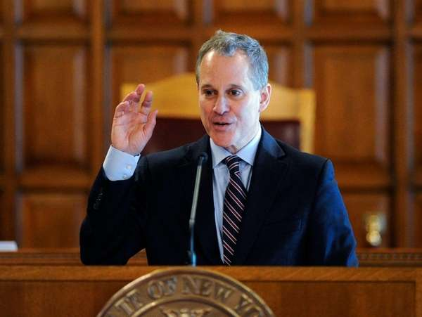 New York State Attorney General Eric Schneiderman on