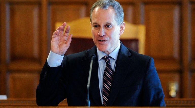 New York State Attorney General Eric Schneiderman on