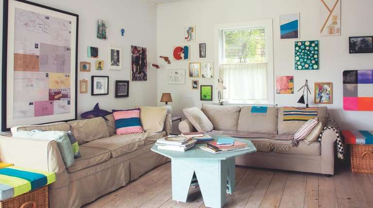 See how artists create spaces that reflect and