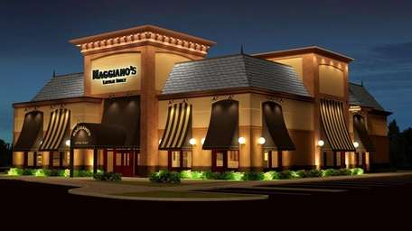 The exterior of Maggiano's Little Italy in Garden