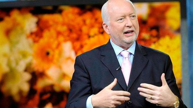 1-800-Flowers CEO Jim McCann during a television interview