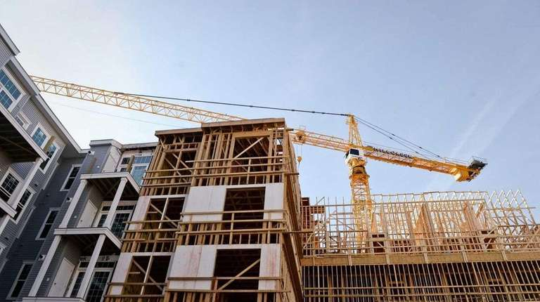 The value of contracts for future construction rose