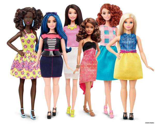 These are some of the new Barbies headed