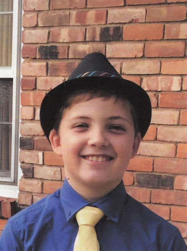 Kidsday reporter James Genovese shows off his fedora.