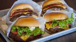 Shake Shack's first location in Manhattan's Madison Square