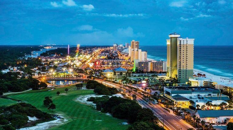 Panama City Beach, Fla., is on the Gulf