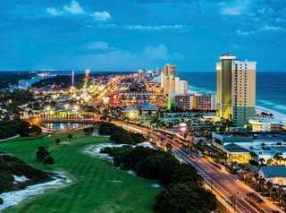 Panama City Beach, Fla., is on the Gulf