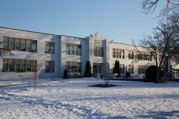 Amityville High School in Amityville, Jan. 28, 2016.