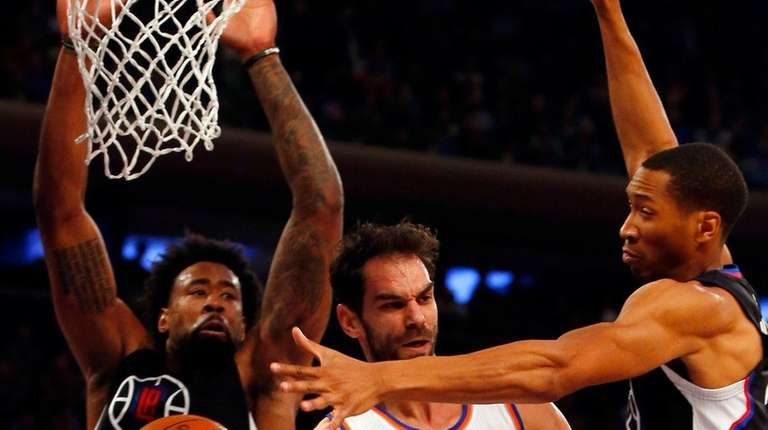 Jose Calderon is more concerned with his sore