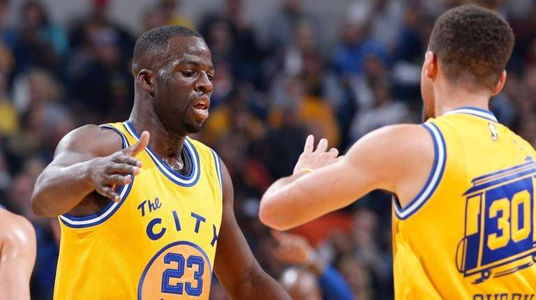Draymond Green and Stephen Curry are two of