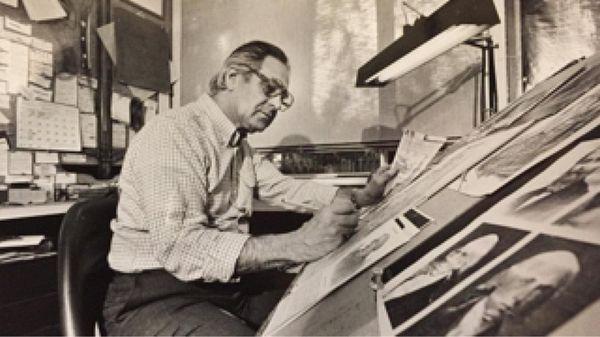 Artist and illustrator Howard Koslow, formerly of East