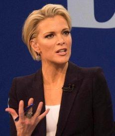 FOX news presenter Megyn Kelly speaks to
