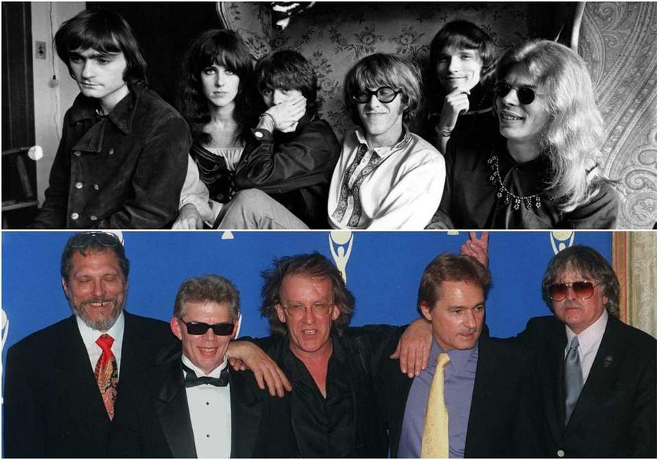 Top: Jefferson Airplane members, in San Francisco on