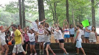 Campers let loose at Hidden Pond Day Camp
