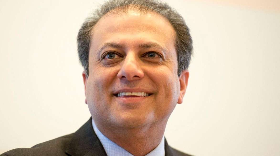 U.S. Attorney Preet Bharara for the Southern District
