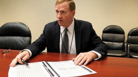 PSEG Long Island president David Daly at a