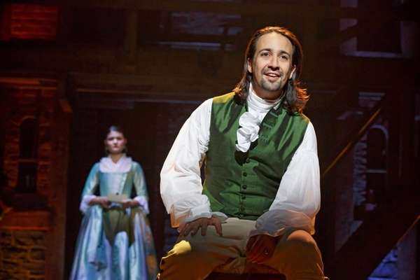 Lin-Manuel Miranda stars as Alexander Hamilton in the
