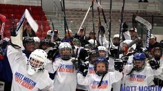 Team spirit at Matt Martin Hockey Academy in