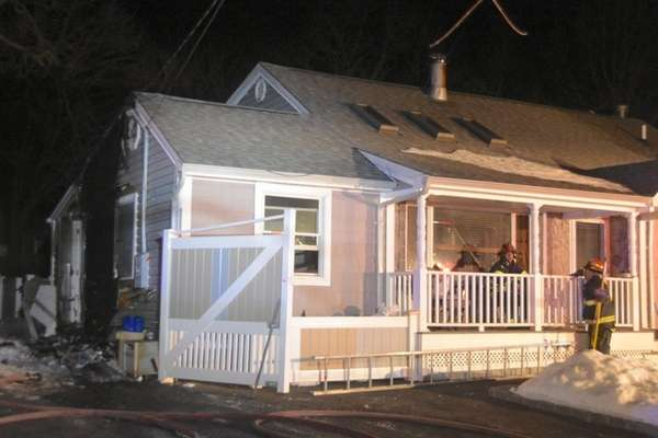 Brentwood firefighters respond to a house fire on