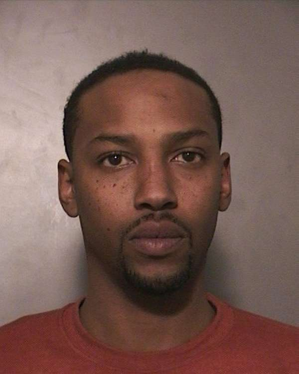 Gregory Day, 31, of Hempstead, was arrested Friday,